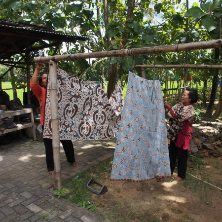 "Batik featured in DVD, ""Batik of Java"""